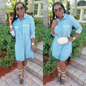 Ann Marie Shirt Dress