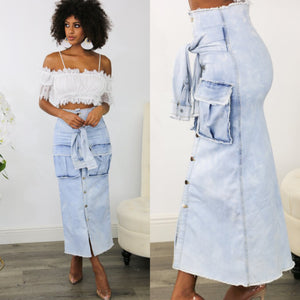 Layla Denim Skirt
