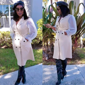 Bernice Trench Dress