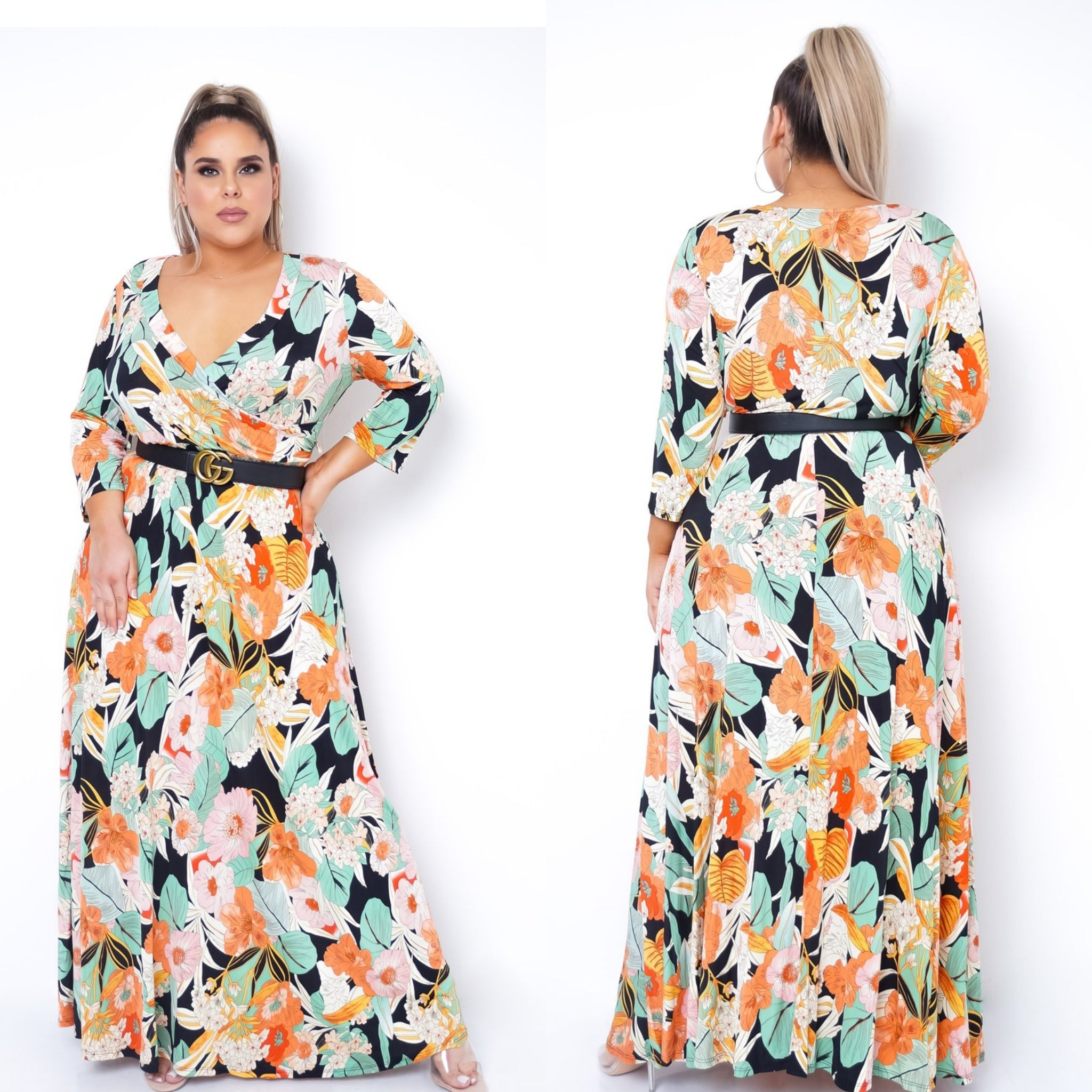 Vera Plus Maxi Dress