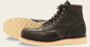 6in Classic Moc | Charcoal | Red Wing