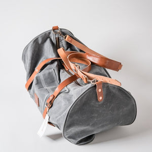The Rambler Duffle | Charcoal | Bradley Mountain