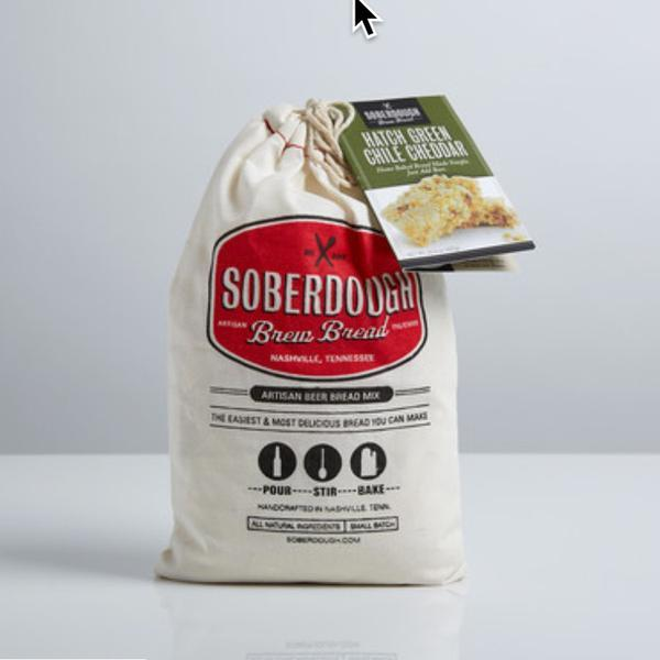Soberdough's Green Chile Cheddar Brew Bread Mix