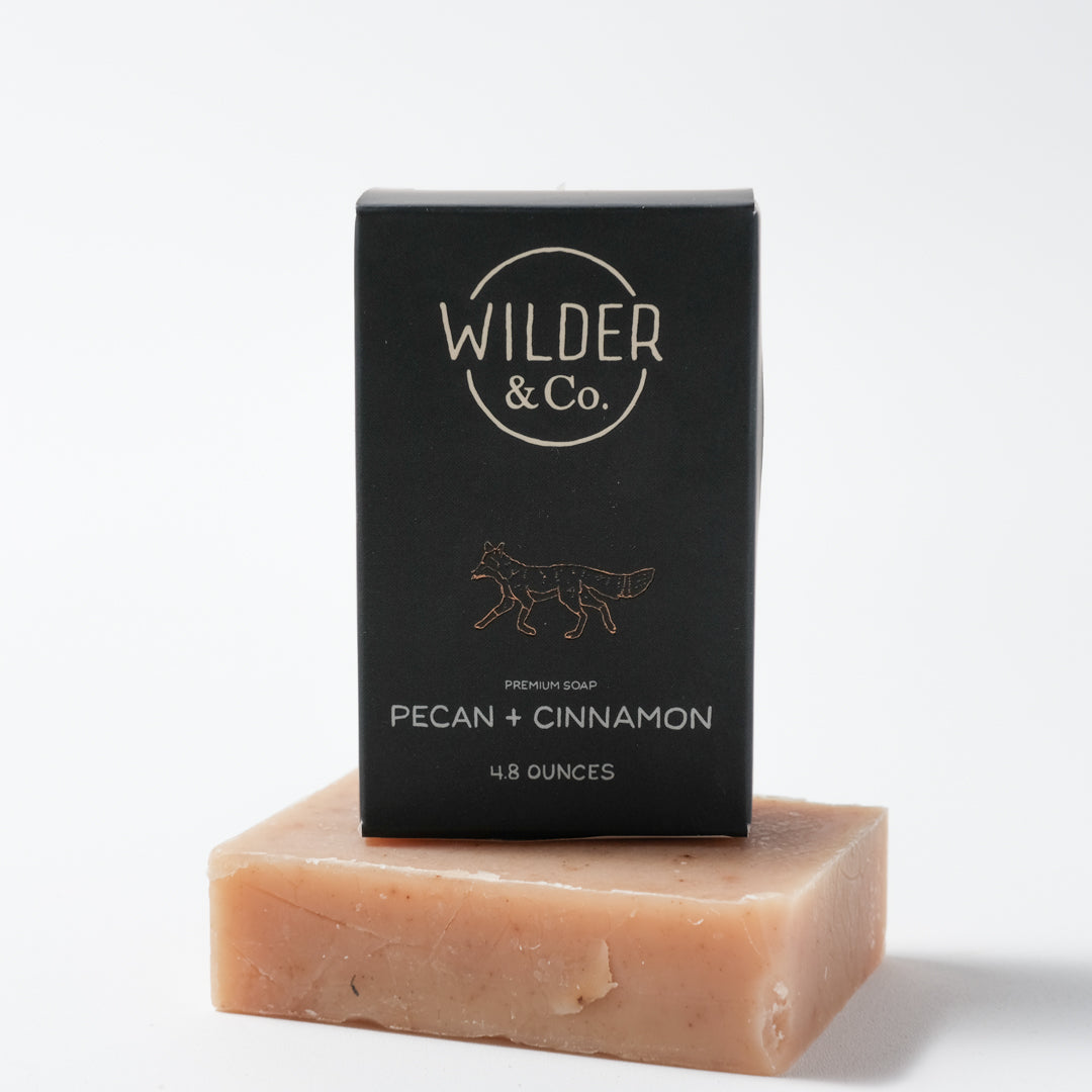 Bar Soap | Pecan + Cinnamon | Wilder & Co