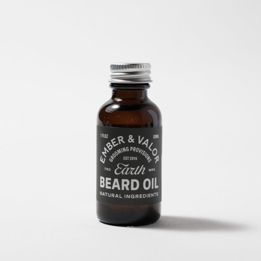 Beard Oil | Earth | Ember & Valor