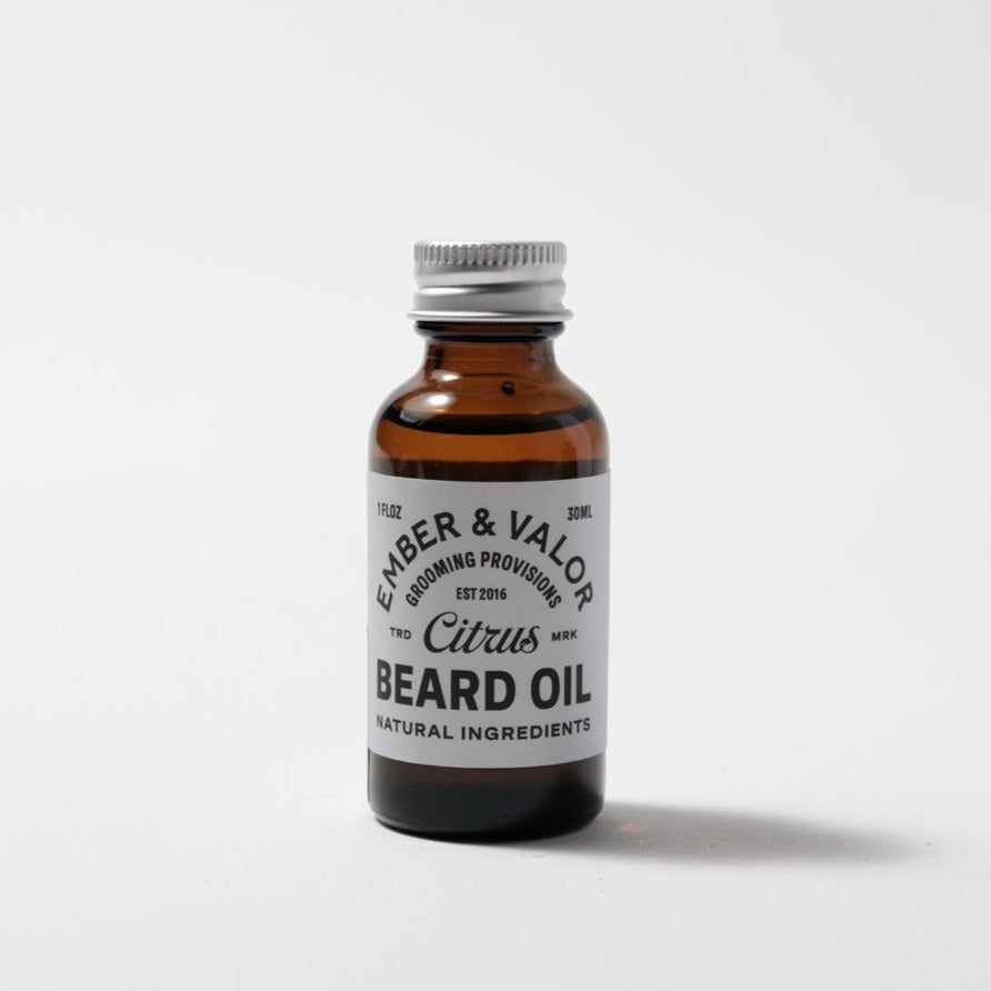 Beard Oil | Citrus | Ember & Valor