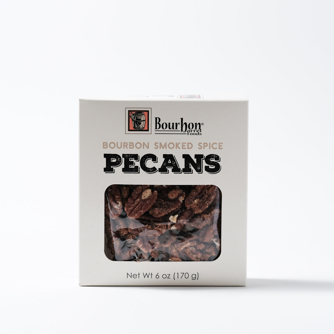 Bourbon Smoked Pecans | Bourbon Barrel Foods