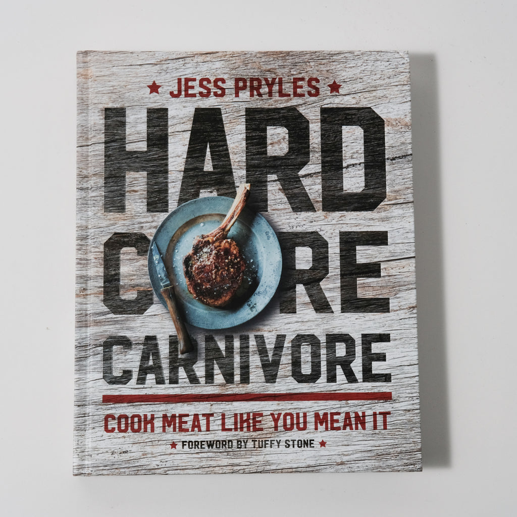 Signed Hardcore Carnivore Cookbook | Hardcore Carnivore