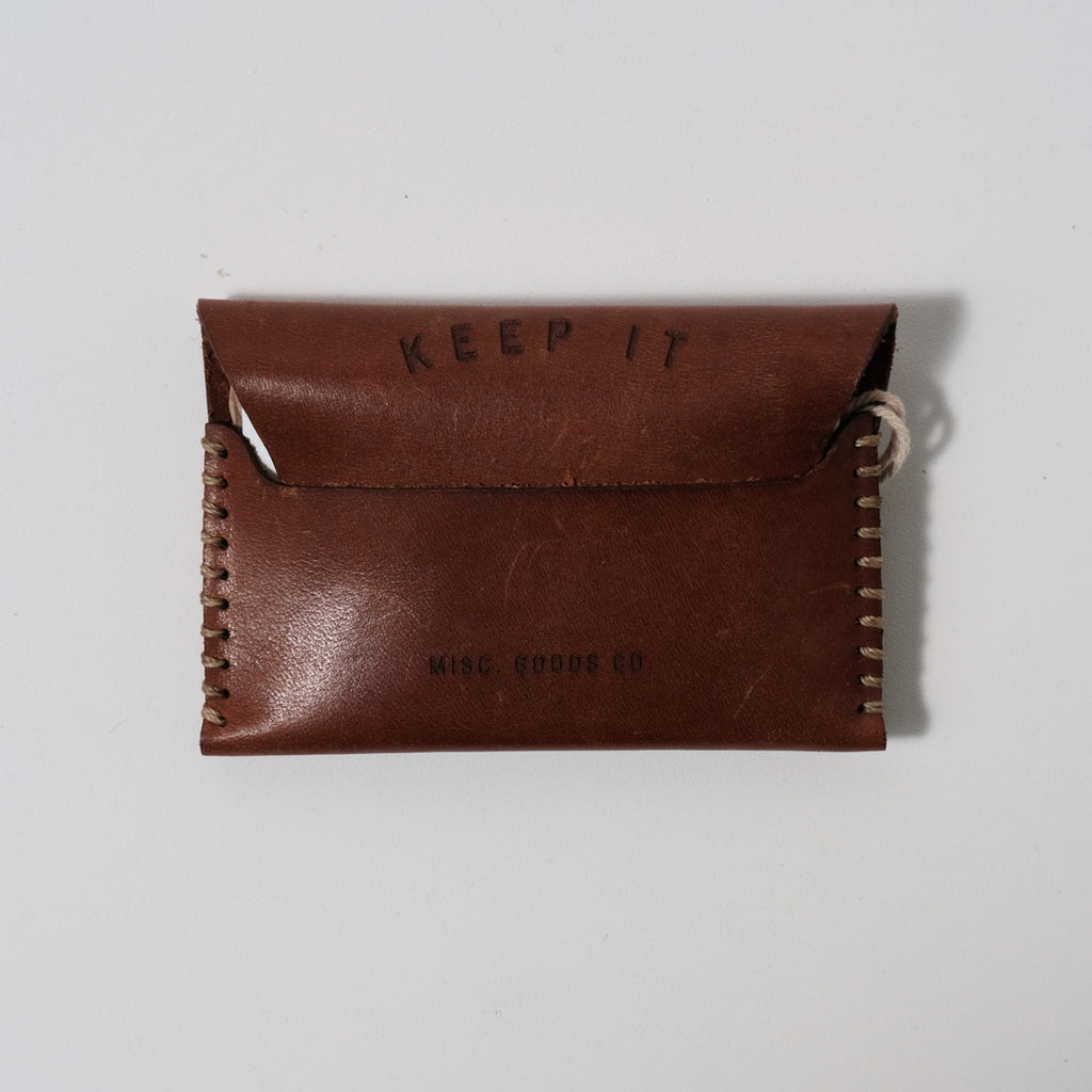 Leather Wallet V.2 | Q Tan | Misc. Goods Co.