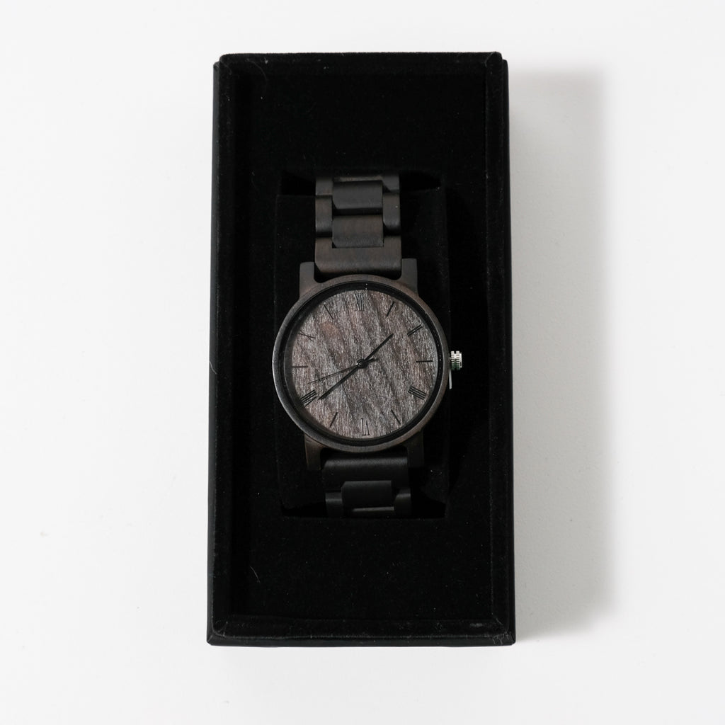 The Minimalist Watch | Black Sandalwood | Avant Wood