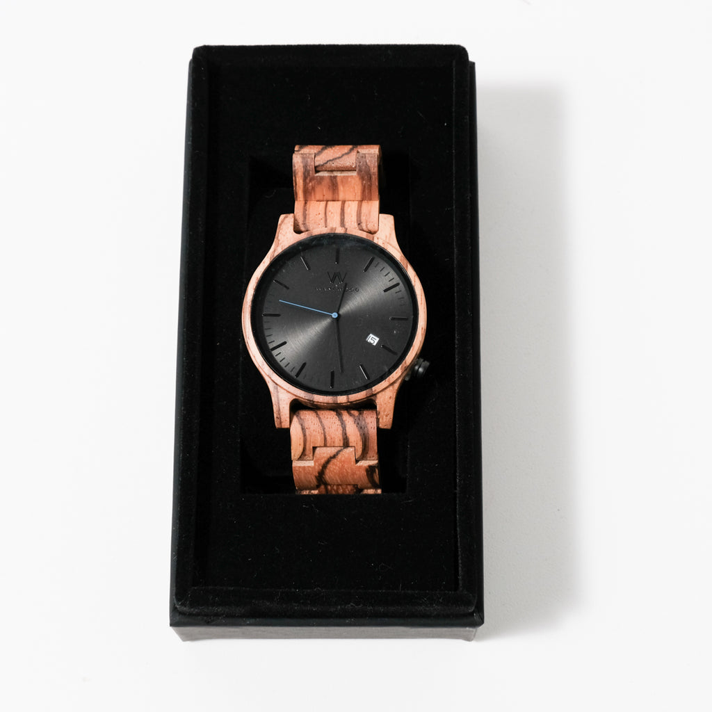 Urban Classic Watch | Stealth Black | Avant Wood