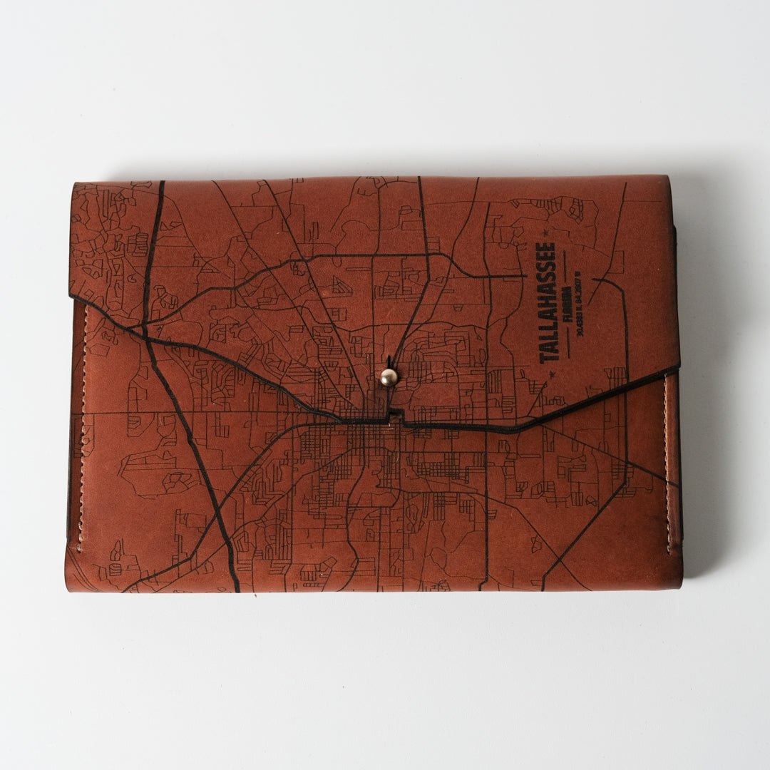 Tallahassee Map Journal | Tactile Craftworks