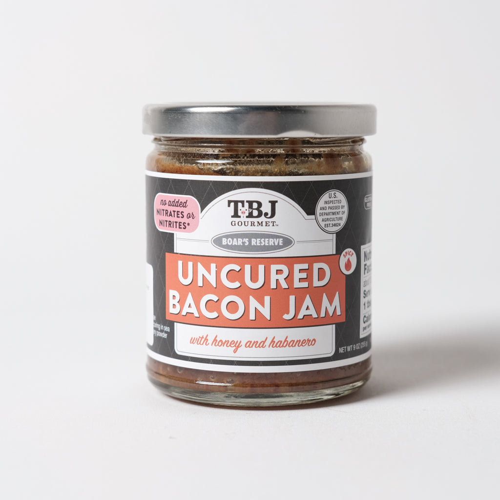 Honey and Habanero Bacon Jam | TBJ Gourmet