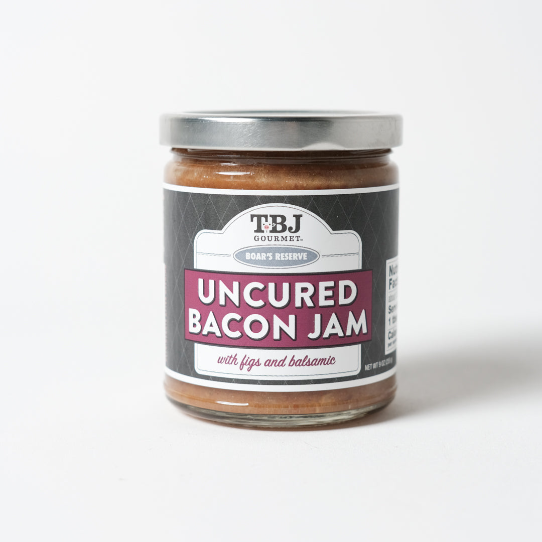 Figs and Balsamic Bacon Jam | TBJ Gourmet