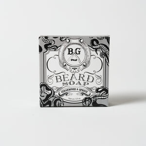 4oz. Beard Soap | Cedarwood & Spruce| Brooklyn Grooming