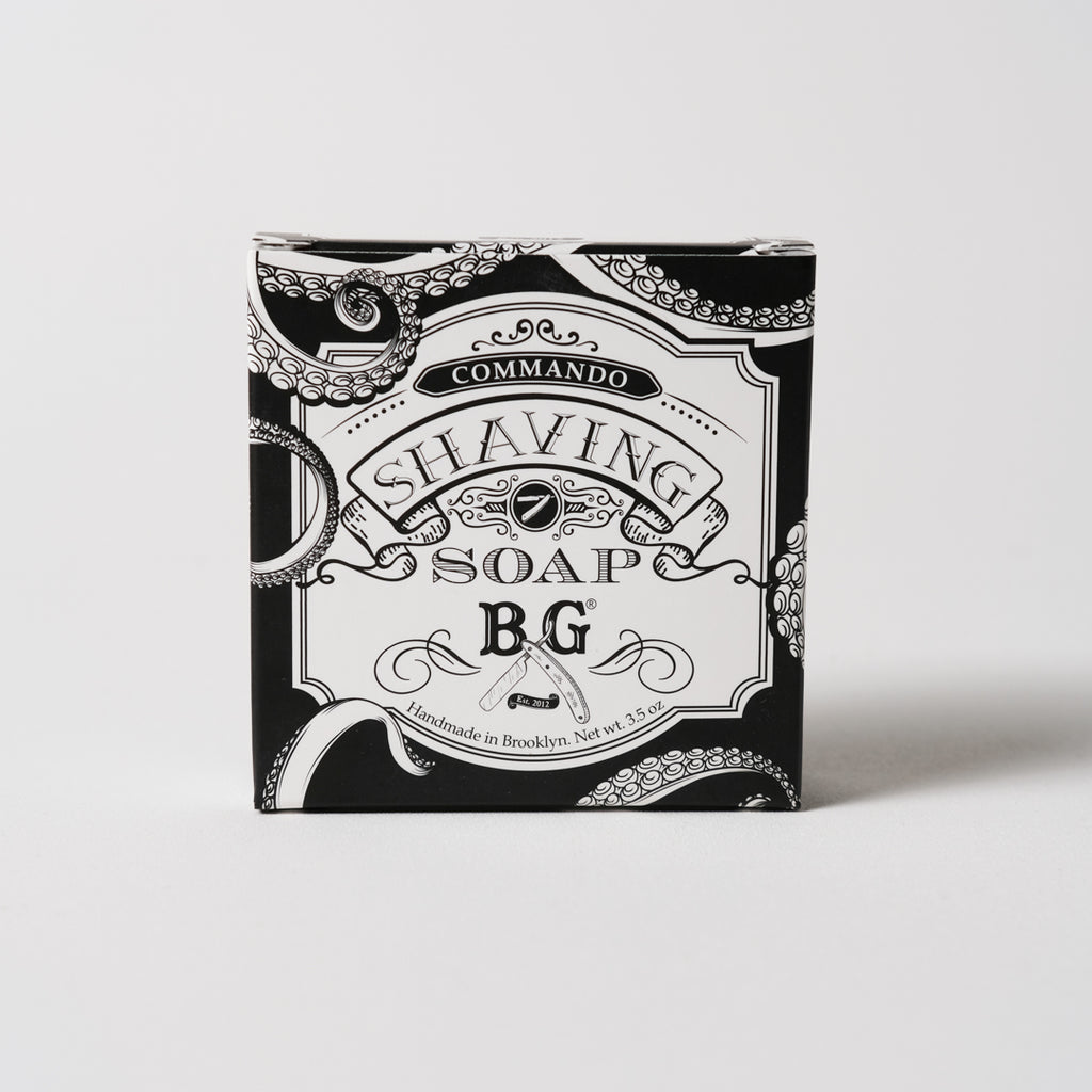4oz. Unscented Shaving Soap Soap | Brooklyn Grooming