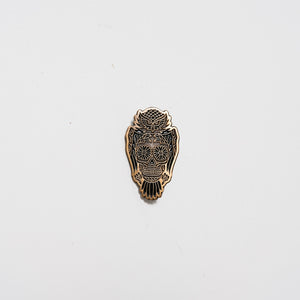 Jacket Pin | Owl Candy Skull | The Southern Pines