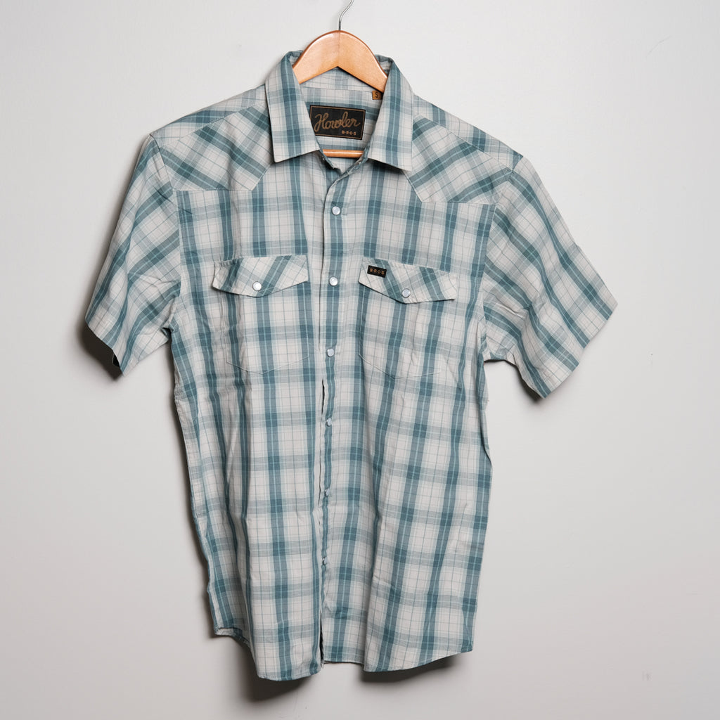H Bar B Snapshirt | River Blue | Howler Brothers