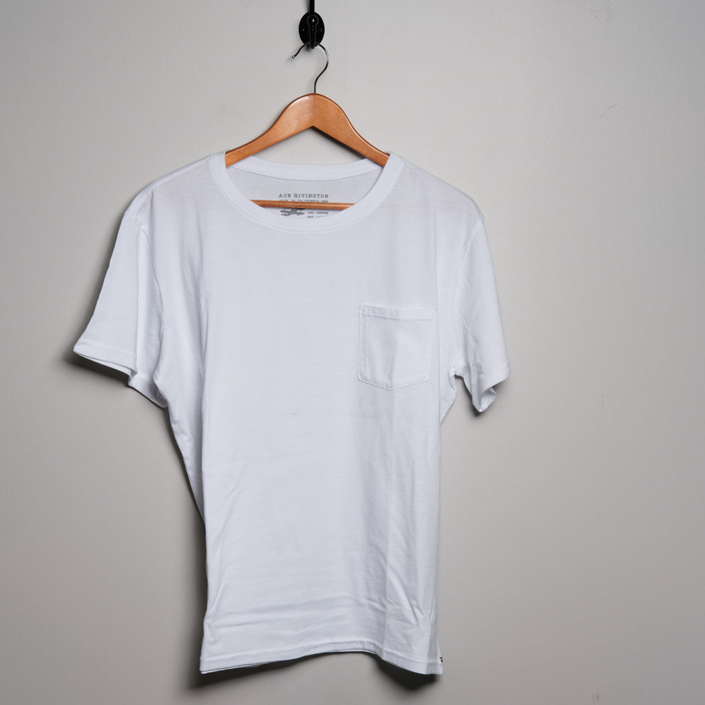Cotton Tee | White | Ace Rivington