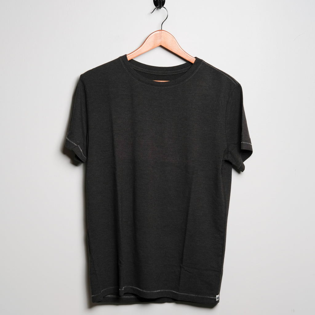 Cotton Tee | Black | Ace Rivington