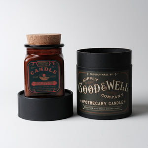 Solstice Candle | Blood Orange, Bergamot + Florals |Good+Well Supply Co