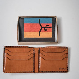 Classic Six Bifold Wallet | Original | Bexar Goods Co.