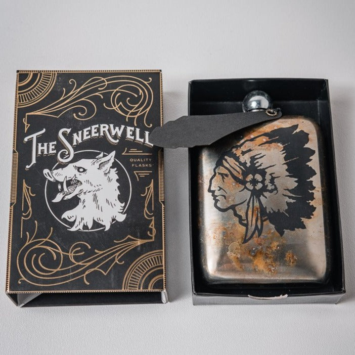 The Sneerwell's The Chieftain Noble Flask