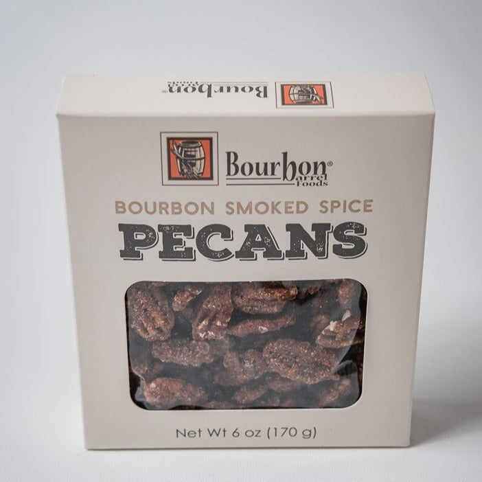 Bourbon Barrel Food's Bourbon Smoked Pecans