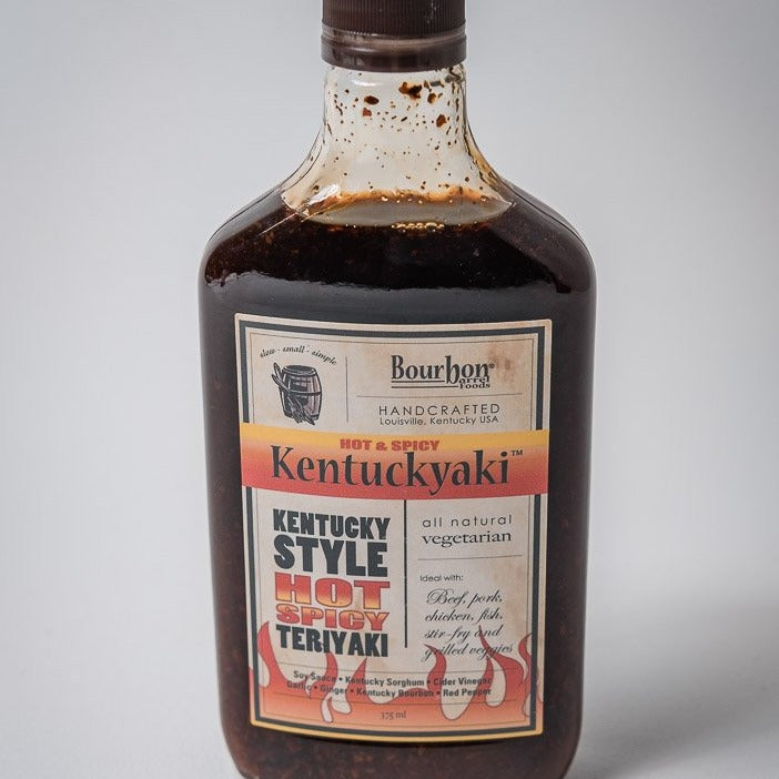Kentuckyaki Sauce | Hot & Spicy | Bourbon Barrel Foods