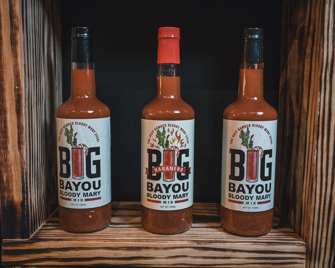 Bloody Mary Mix | Habanero | Big Bayou