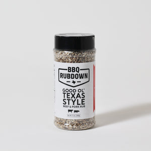 Good Ol' Texas Style | Beef and Pork Rub | BBQ Rubdown