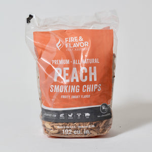 Woodchips | Peach | Fire and Flavor