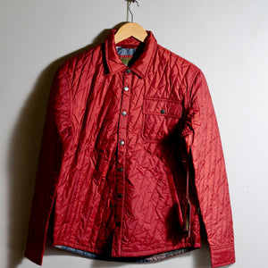 Lightning Quilted Jacket | Terracotta | Howler Brothers