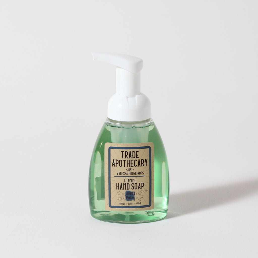 Foaming Hand Soap | Juniper Porter | Trade Apothecary