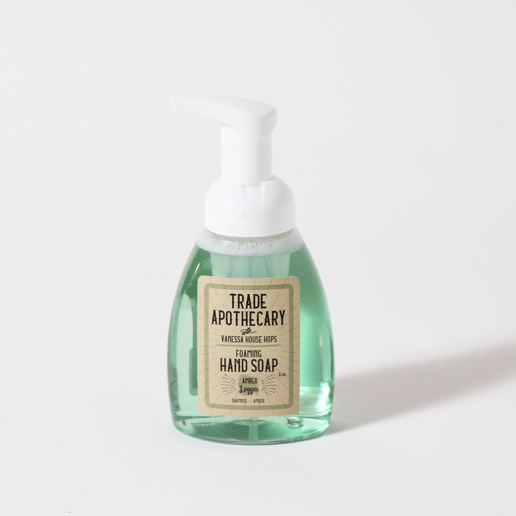 Foaming Hand Soap | Amber Logger | Trade Apothecary