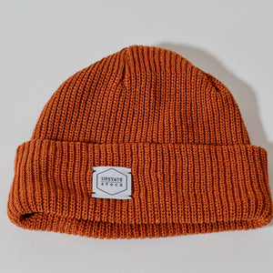 Eco-Cotton Watchcap | Ochre | Upstate Stock