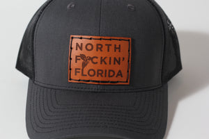 North F#cking Florida Trucker Hat | Grey  | Richardson | The Southern Pines