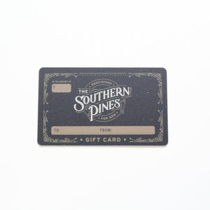 Gift Card | The Southern Pines