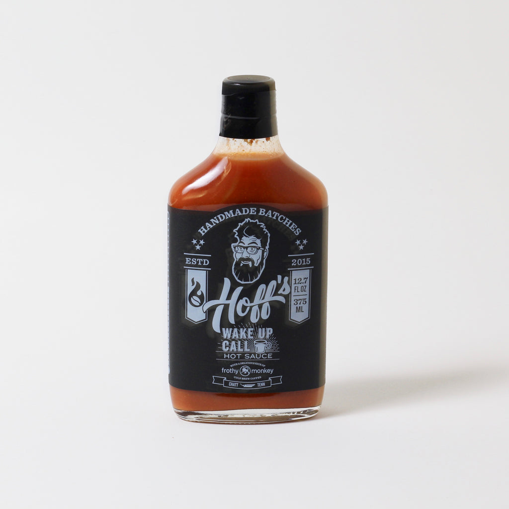 Wake Up Call | SWEET & SPICY HOT SAUCE WITH COLD BREW COFFEE | HOFF+PEPPER