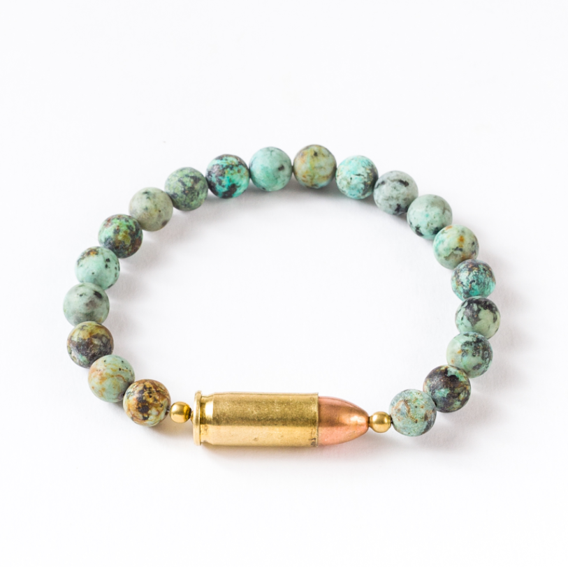 Center Fire Cuff | Blue Jasper | Tres Curevos