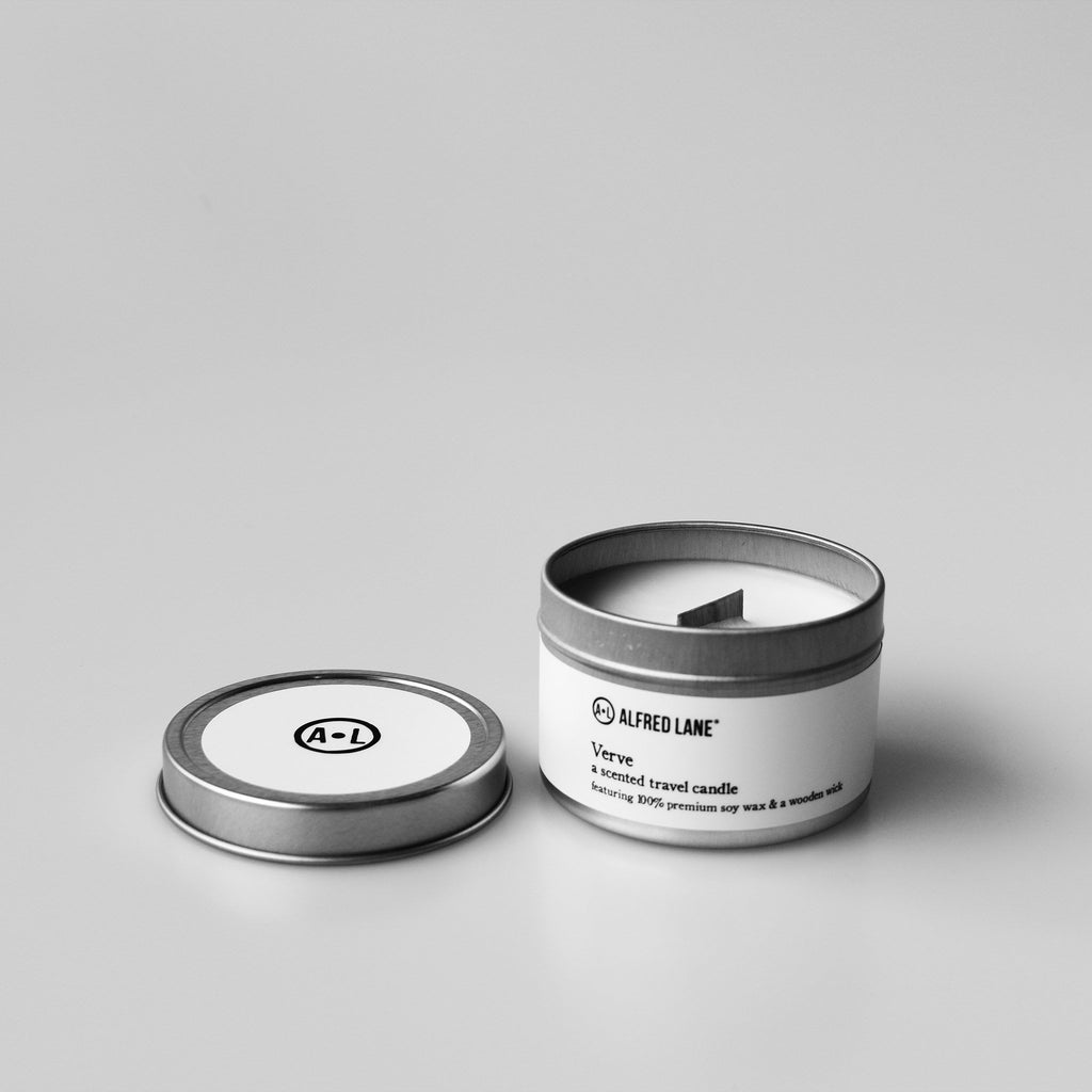 Alfred Lane's Verve Travel Candle