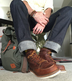 6in Classic Moc | Brown | Red Wing