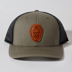Owl Trucker Hat | Olive | Richardson | The Southern Pines