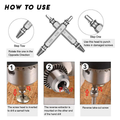Premium Screw Extractor