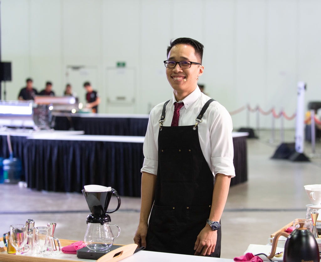 Faces of Coffee: Shi Chun