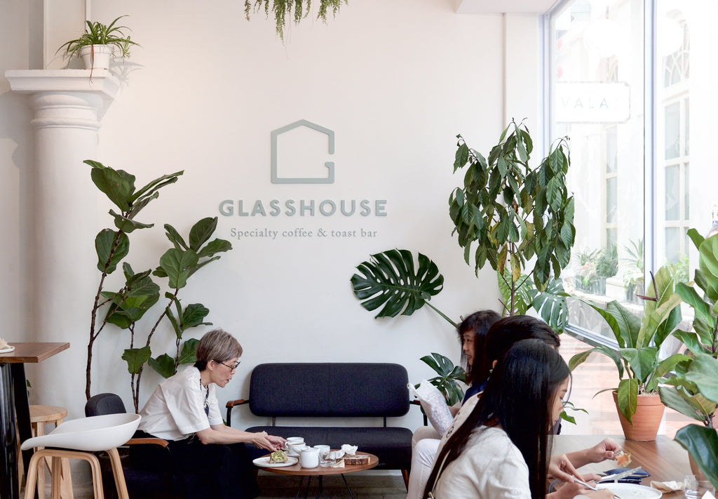 The Glasshouse: Specialty Coffee & Toast Bar