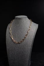 Aria Gold Large Open Link Chain Necklace