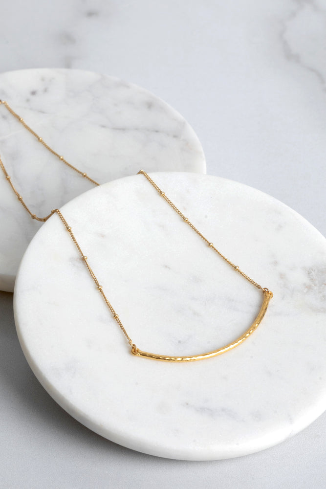 Jenny Wishbone Necklace