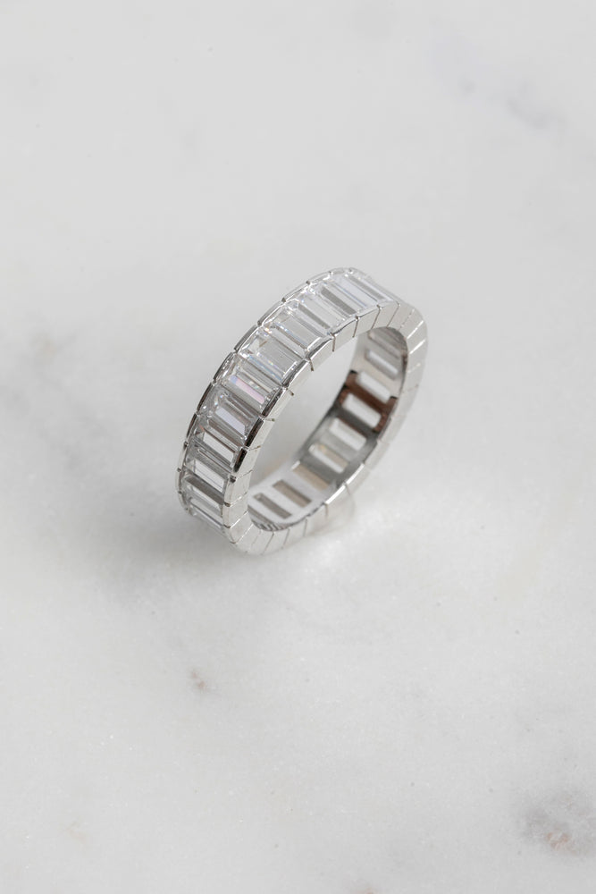 Load image into Gallery viewer, Natasha Baguette Ring