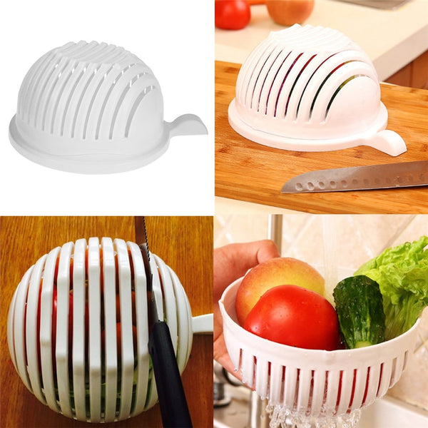 60 Second Salad Maker and Cutter Bowl